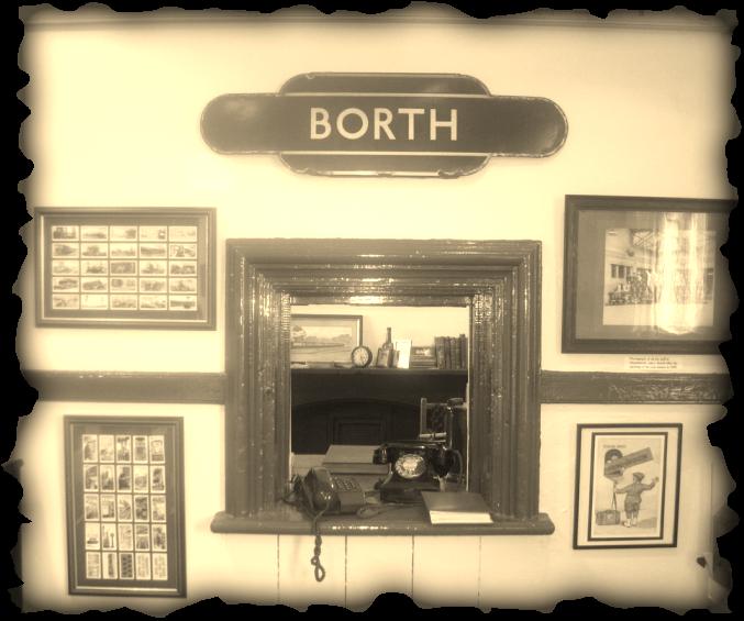 Borth Station Museum